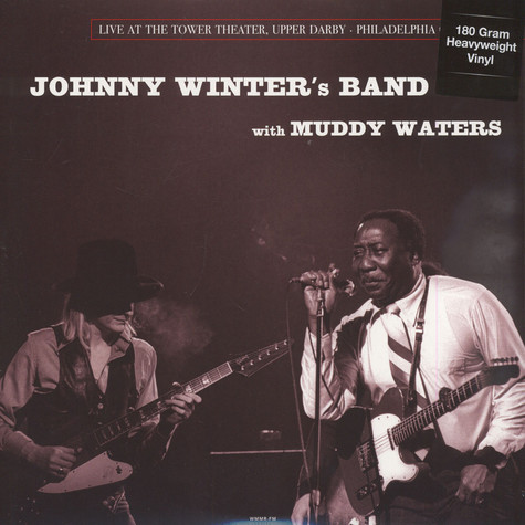 Johnny Winter's Band with Muddy Waters - Live In Philadelphia, March 6, 1977