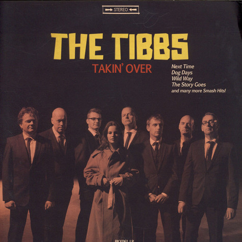 Tibbs, The - Takin' Over Clear Vinyl Edition