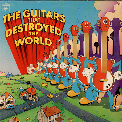 V.A. - The Guitars That Destroyed The World