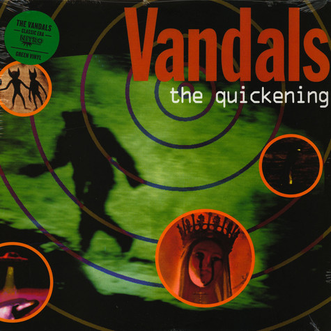 Vandals, The - The Quickening Green Vinyl Edition