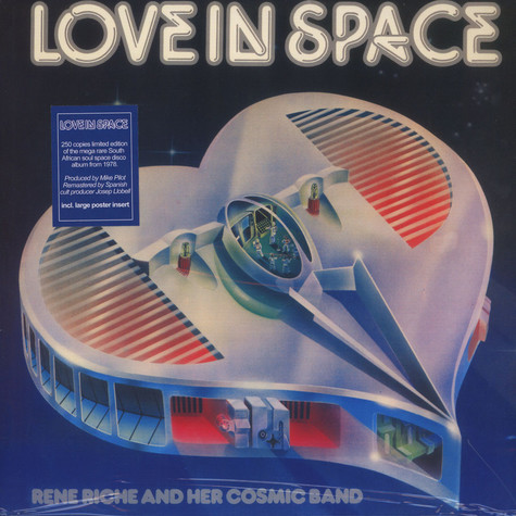 Rene Riche & Her Cosmic Band - Love In Space Red Vinyl Edition