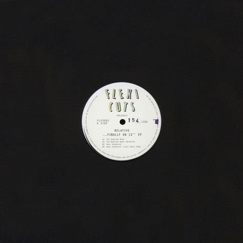 "Relative - …Finally On 12"" EP"