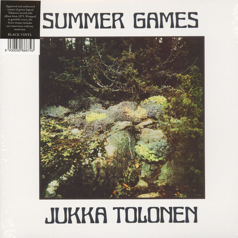 Jukka Tolonen - Summer Games Black Vinyl Edition
