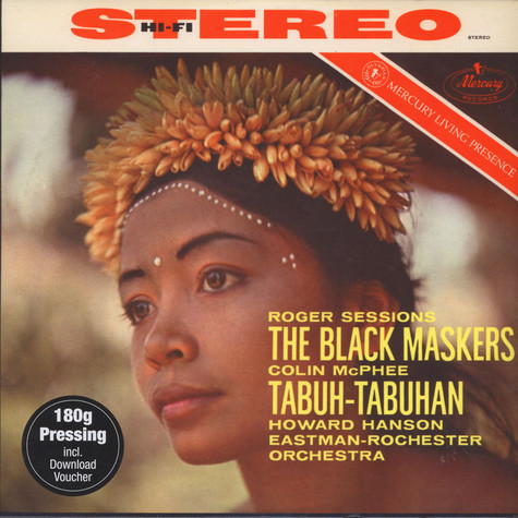 Howard Hanson / Eastman-Rochester Orchestra - Sessions: The Black Maskers / Mcphee: Tabuh-tabuha