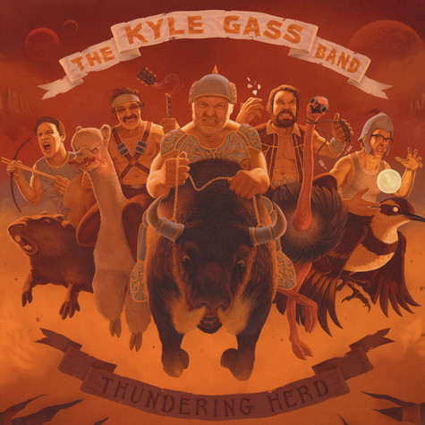 Kyle Gass Band, The - Thundering Herd