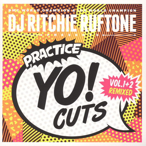 DJ Ritchie Ruftone - Practice Yo! Cuts Vol. 1&2 Remixed White Vinyl Edition