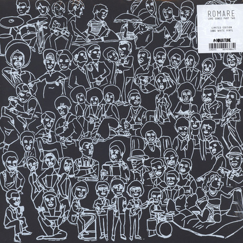 Romare - Love Songs: Part Two White Vinyl Edition