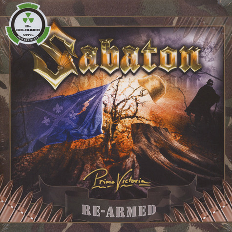 Sabaton - Primo Victoria Bi-Coloured Vinyl Edition