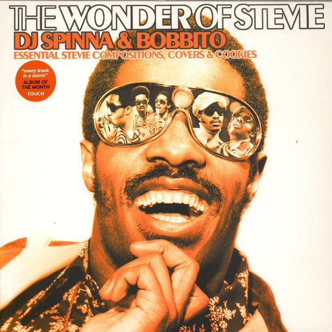 DJ Spinna & Bobbito - The Wonder Of Stevie (Essential Stevie Compositions, Covers & Cookies)