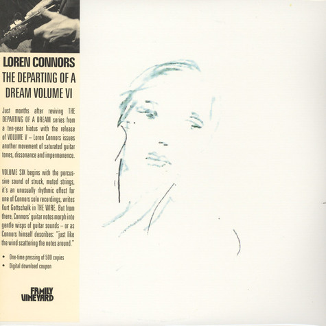 Loren Connors - The Departing Of A Dream, Volume VI