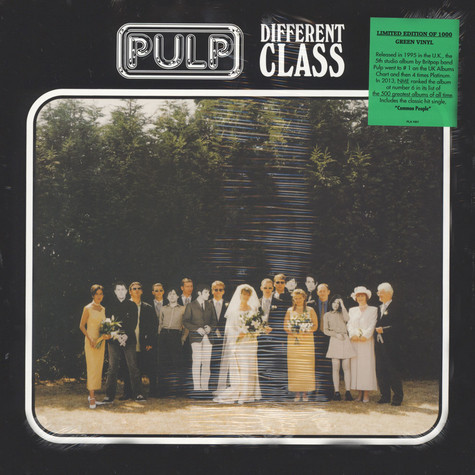 Pulp - Different Class Green Vinyl Edition