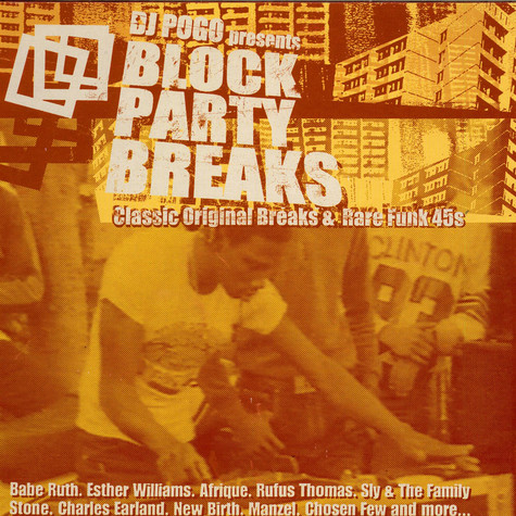 Various - DJ Pogo Presents Block Party Breaks