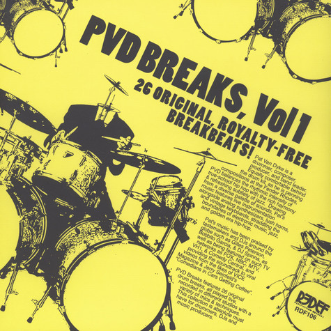 Pat Van Dyke (PVD Music) - PVD Breaks Volume 1 (Royalty Free Breaks)