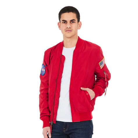70a017a0a Alpha Industries - MA-1 TT Nasa Reversible (Speed Red)