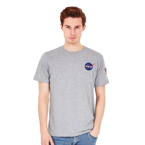 49c4995dde982 Alpha Industries - Space Shuttle T-Shirt (Grey Heather)
