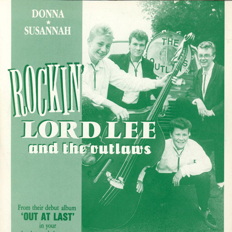 Rockin' Lord Lee & The Outlaws - Donna