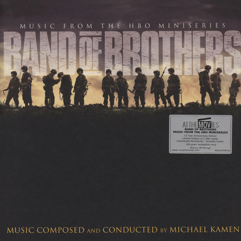 Michael Kamen - OST Band Of Brothers Colored Vinyl Edition