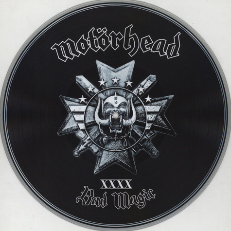 Motörhead - Bad Magic Silver Picture Disc Edition