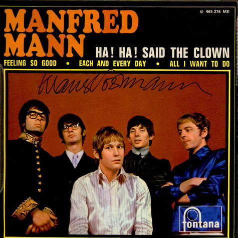 Manfred Mann - Ha! Ha! Said The Clown
