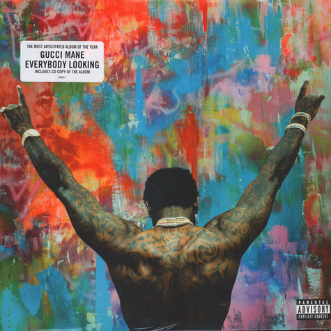 Gucci Mane - Everybody Looking Red & Blue Vinyl Edition