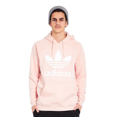 adidas originals trefoil hoodie vapor pink. Black Bedroom Furniture Sets. Home Design Ideas