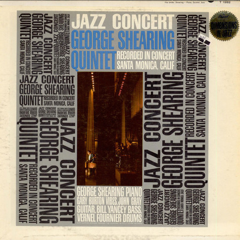 George Shearing Quintet, The - Jazz Concert