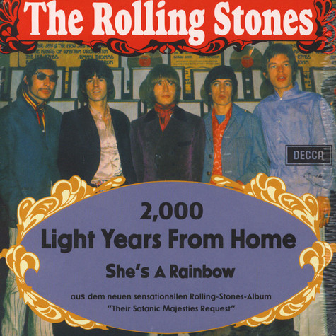 Rolling Stones - 2000 Light Years From Home / She's A Rainbow
