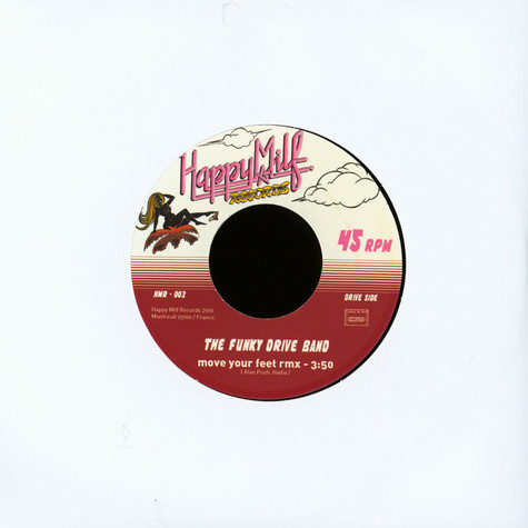 Funky Drive Band & Armadeo 85 - Move Your Feet / Drive Me Crazy