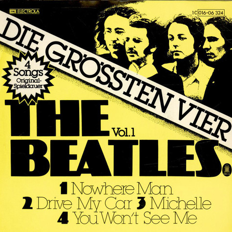 Beatles, The - Die Grössten Vier Vol. 1