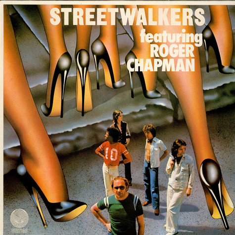 Streetwalkers Featuring Roger Chapman - Downtown Flyers