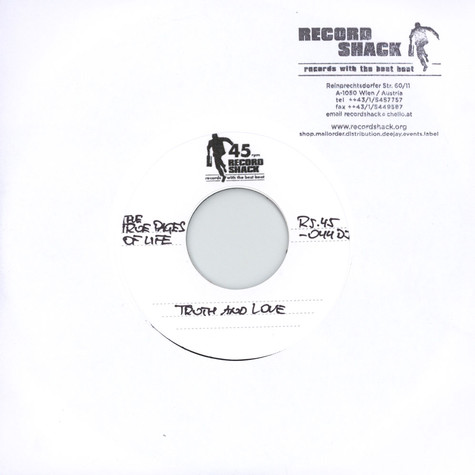 True Pages Of Life, The - Truth And Love / Long Version