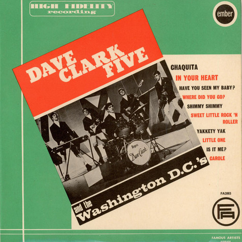 Dave Clark Five And The Washington DC's, The - Dave Clark Five And The Washington DC's