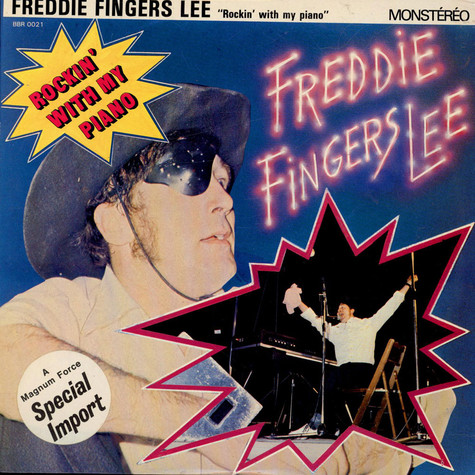 """Freddie """"Fingers"""" Lee - Rockin' With My Piano"""
