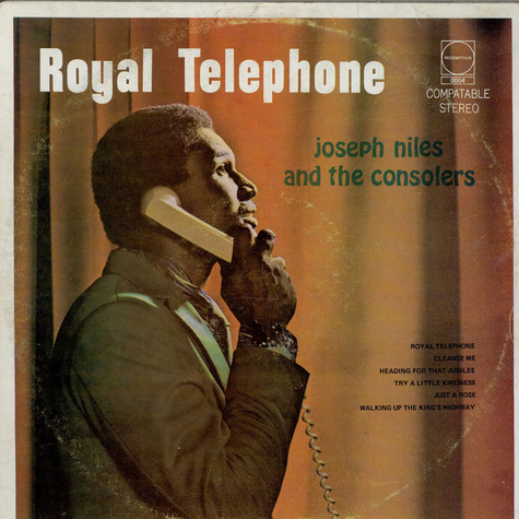 Joseph Niles And The Consolers - Royal Telephone