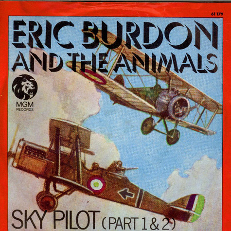 Eric Burdon Amp The Animals Sky Pilot Vinyl 7 Quot 1968