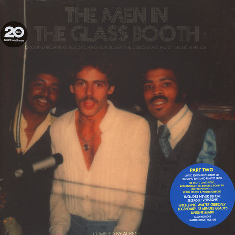 Al Kent presents - The Men In The Glass Booth - Disco Eras Most Influential DJs - Part 2