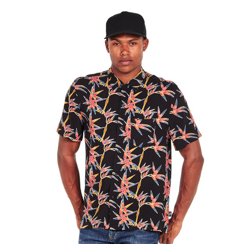 St ssy bamboo shirt black for Bamboo button down shirts