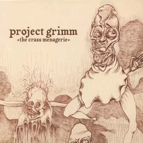 Project Grimm - Crass Menagerie Black Vinyl Edition