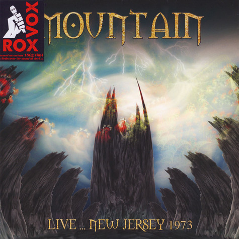 Mountain - Live … New Jersey 1973