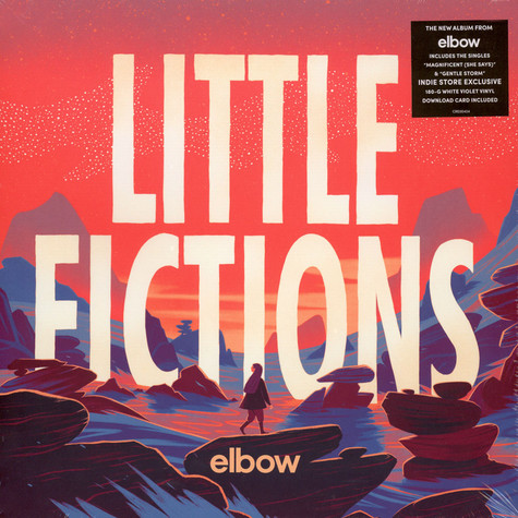 Elbow - Little Fictions White / Violet Vinyl Edition