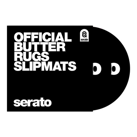 "Serato x Thud Rumble - Butter Rugs 12"" Slipmats"