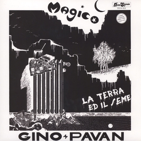 Gino Pavan - Magico Limited Clear Vinyl Edition