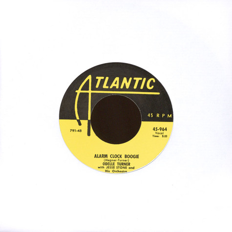 Laurie Tate / Odelle Turner - Rock Me Daddy / Alarm Clock Boogie