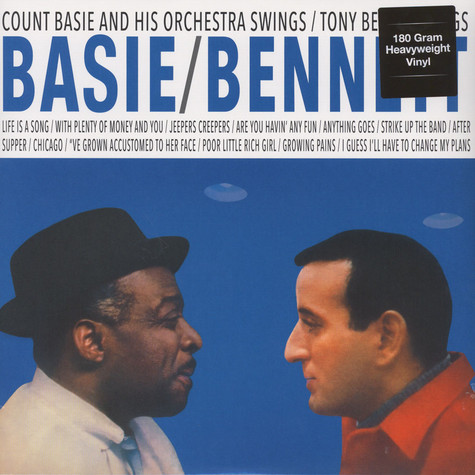 Count Basie & Tony Bennett - Basie Swings Bennett Sings