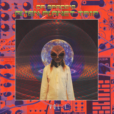 Dr. Space's Alien Planet Trip - Volu,e 1 Purple Vinyl Edition