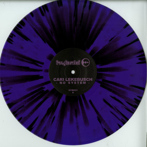 Cari Lekebusch - No System Purple & Black Splatter Vinyl
