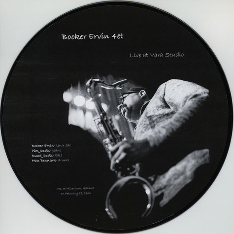 Booker Ervin Quartet - Live at Vara Studio Deluxe Edition (One-sided)