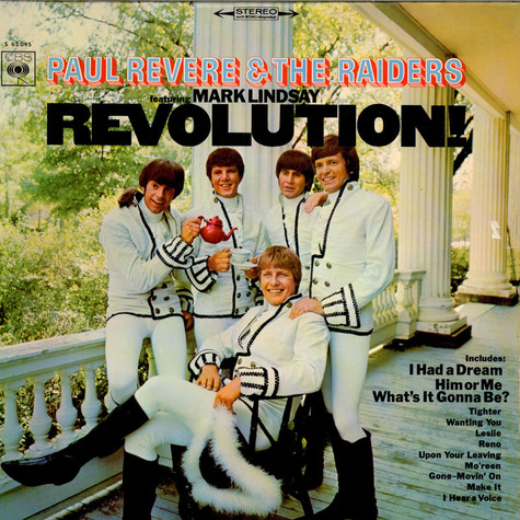 Paul Revere & The Raiders Featuring Mark Lindsay - Revolution