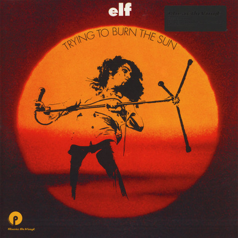 Elf - Trying To Burn The Sun Black Vinyl Edition