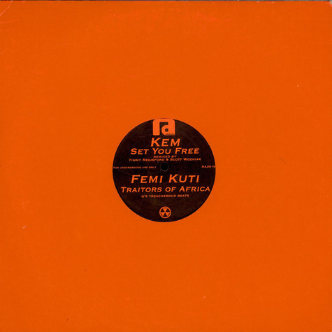 Kem / Femi Kuti - Set You Free / Traitors Of Africa